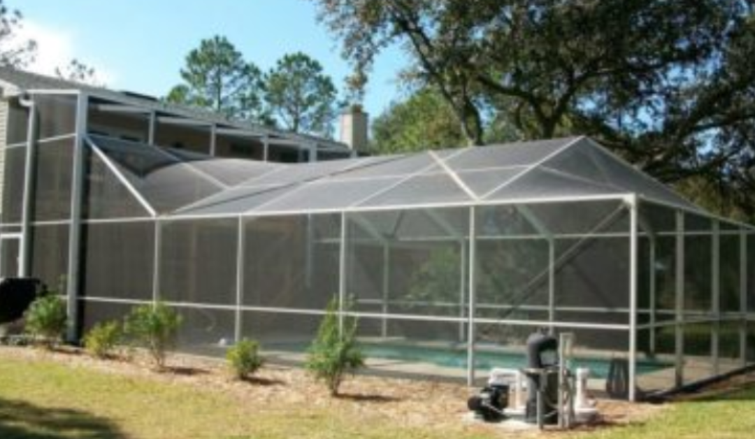 outdoor screen enclosure in Riverview, FL