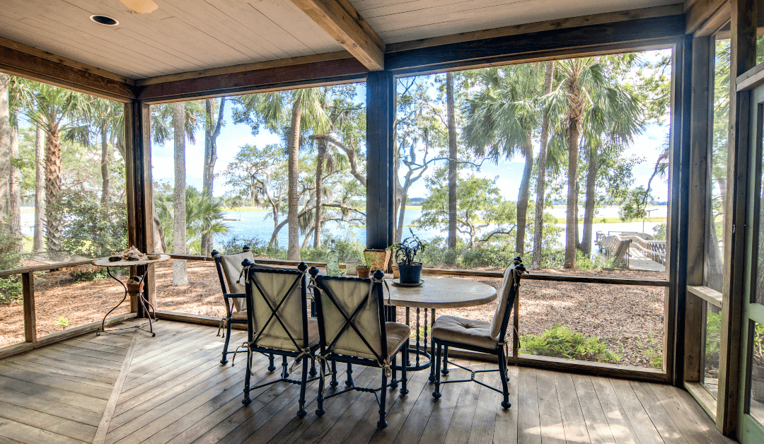How to Make Your New Screened Porch Fully Functional